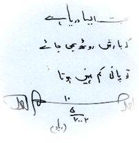 pic amjad autograph 1 - Biography of Amjad Islam Amjad